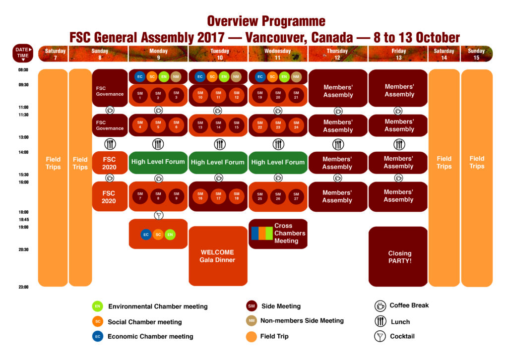 The preliminary programme for the 2017 GA is now available